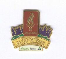 1996 ATLANTA SUMMER OLYMPIC ALABAMA POWER BRICK PIN FROM SET RARE