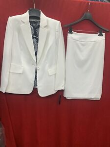 TAHARI BY ARTHUR LEVINE SKIRT SUIT/SIZE 20W/IVORY/RETAIL$280/NEW WITH TAG