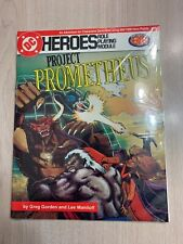 DC HEROES PROJECT PROMTHEUS ROLE PLAYING MODULE BRAND NEW SHRINK-WRAPPED