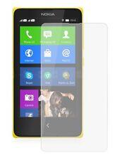 6 X Lcd Clear Film Protector De Pantalla De Aluminio Protector para Nokia X Dual Sim / rm-980