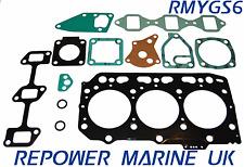 SET GUARNIZIONE PER YANMAR 3jh3 eyeu Marine Diesel 40 HP,ricambio#: 729270-92601