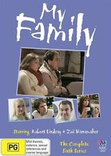 My Family : Series 6 (DVD, 2011, Like New, Region 4) gb1a