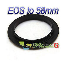 58mm Macro Reverse Adapter Ring For CANON 50D 40D 30D