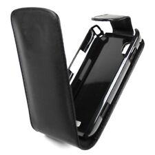 HOUSSE VERTICALE ETUI FLIP CASE FAÇON CUIR NOIR Pour HTC T9292 HD7