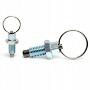M6 index plunger with ring pull spring loaded retractable stainless locking pin
