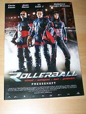 ROLLERBALL - Presseheft ´02 - JEAN RENO, LL COOL J
