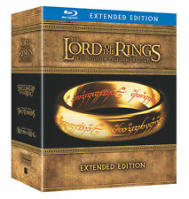 The Lord Of The Rings Trilogy (Extended Edition) BRAND NEW 15-DISC BLU-RAY SET