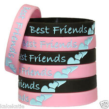 Best forever friend wristband silicon bracelet wristband bangle gift fashion lot