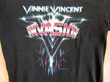 Vintage Original VINNIE VINCENT Concert Shirt 1986 Tour Shirt Size Lg Kiss Shirt