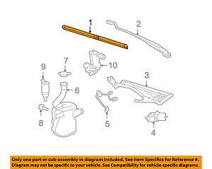 Buick GM OEM 06-11 Lucerne-Wiper Blade 20988800