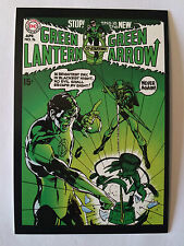CARTE POSTALE DC COMICS GREEN LANTERN N°76 GREEN ARROW POSTCARD