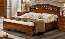 Bett Doppelbett Futonbett 160x200 cm Nussbaum Klassische Italienische Stilmöbel