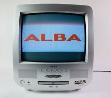 """Crt 14"""" Retro TV With Inbuilt DVD Player All Working & All Ports For Gaming"""