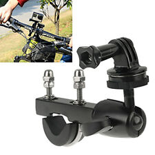 Portable Motorcycle Bike Camera Handlebar Rotated Clamp Mount Bracket Stand LH