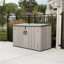 Lifetime Horizontal Storage Shed, Floor Included