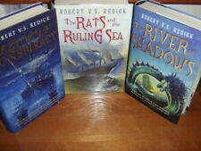 ROBERT V.S. REDICK  RED WOLF CONSPIRACY SET  ONE SIGNED  1ST UK EDITIONS   MAGIC
