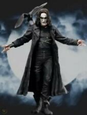 "THE CROW~ERIC DRAVEN~BRANDON LEE~18"" ACTION FIGURE~SOUND FX~REEL TOYS / NECA~MIB"