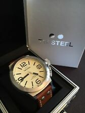 TW STEEL TW 1R Brown Leather Strap