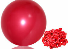 100pcs 10 inch Red Pearl Latex Thickening Wedding Party Birthday Balloon