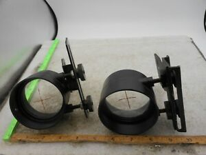 LOT OF 2 Vintage Bow Scope with Proline Sights