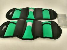 Tone Fitness Wrist/Ankle Weights Pair 2.5 Pound Free Ship w 2 extra 1# packs NEW
