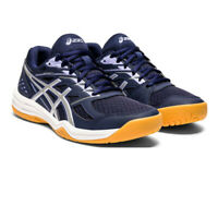 Asics Womens Upcourt 4 Indoor Court Shoes Blue Sports Squash Netball Handball
