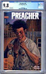 Preacher #10 - CGC 9.8 (NM/M) 1996 - Vertigo Comics - TV Series