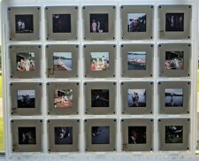 Lot x20 Slides 1970s Photos, Color Camp, Adirondacks, Fishing, Dock, Bikinis +