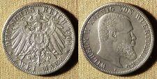 Germany States : Wuerttemberg 1904F  2  MK  XF-/XF+  #631  IR2368