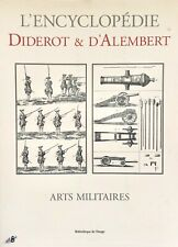 Diderot/d'Alembert 1700s Military Arts Arms/Crossbows/Catapults/ Cannons w/Plates