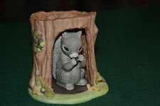 Franklin Mint Porcelain Woodland Surprises Squirrel by Jacqueline B.Smith w/cert