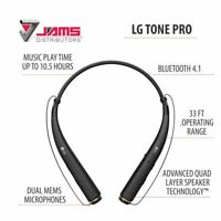 LG TONE PRO HBS-780 Premium Bluetooth Wireless Stereo Headset Black BLOWOUT SALE