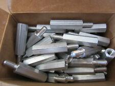 "(100) RAF 4583-1032-AL Standoffs Aluminum Male/Female 10/32 X 1-3/8"" Long NEW!!!"