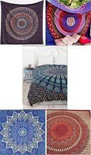 5 PCS INDIAN MANDALA Tapestry Wall Hanging Wholesale Job Lots Large Double Size