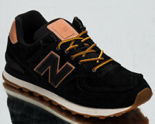 New Balance 574 Men's Casual Athletic Black Lifestyle Sneakers Shoes Trainers