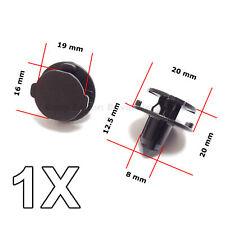 1X Bumper Air Duct, Bumper Shield Protector clip for Nissan