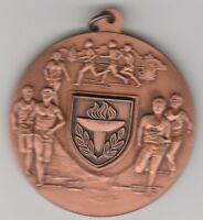 (N)  Token - Runners Medal - 45 MM Copper