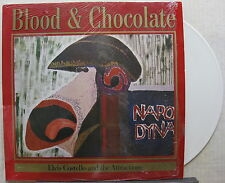 ELVIS COSTELLO Blood & Chocolate 1986 GERMAN ORG White Vinyl LP Shrink! MINTY!