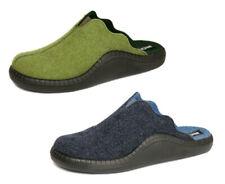 Romika Pantoffeln Hausschuhe MOKASSO 17 blau grün Wollfilz 61017 NEU