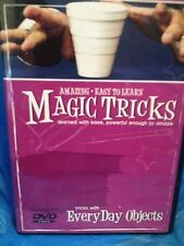 Amazing Easy to Learn Magic Tricks:  Tricks With Everyday Objects Magic DVD