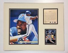 Toronato Blue Jays Joe Carter 1995 MLB Baseball 11x14 MATTED Lithograph Print