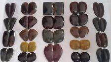100% NATURAL RUBY &  BLUE SAPPHIRE  EMERALD YELLOW  FLAT ROSE CUT  455 CT