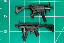 Custom Arsenal pack resin black cast 1:12 MP5 with stocks