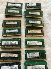 LOT OF 46 MIXED BRANDS 1GB 1Rx8 PC3-10600S 6400s 8500s 10600s MEMORY RAM