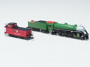 88811 Marklin Z Southern Railway Ps-4s Loco in Metal w/5 Pole motor & Caboose