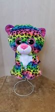 Ty Beanie Baby Boos Gear Dotty Rainbow Leopard Backpack Nwt has tags, Kitty Cat