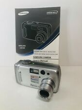 Samsung Digimax 530 Digital Camera 12X 5.0 Mega Pixels tested! (Q