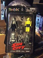 Sin City Minimates Box Figure Set of 4 Diamond Select Art Asylum NEW