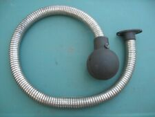 """Maytag Model 92 and early 72 twin Muffler, Flange and Hose 60"""" Long"""