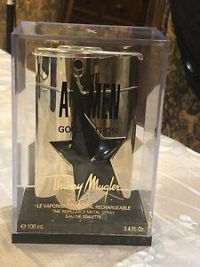 Thierry Mugler A*MEN GOLD EDITION EDT Men 3.4 oz/100 oz REFILLABLE METAL Spray